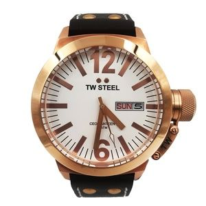 TW Steel Gold Plated Men's Watch